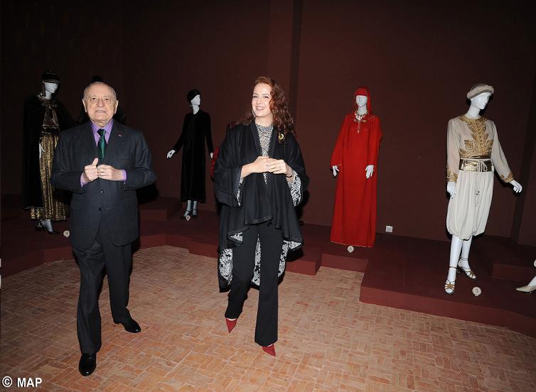 SAR la Princesse Lalla Salma préside la cérémonie d'inauguration de l'exposition