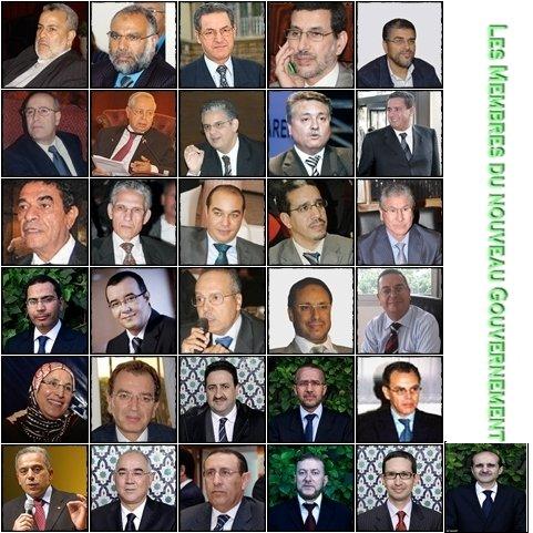 LES NOUVEAUX MEMBRES DU GOUVERNEMENT  membres-du-gouvernement